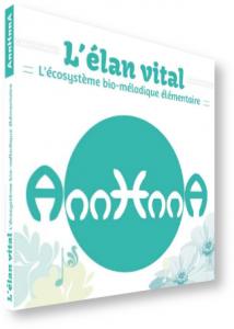 """Couverture """"L'élan vital - L'écosystème bio-mélodique élémentaire"""" 3D"""