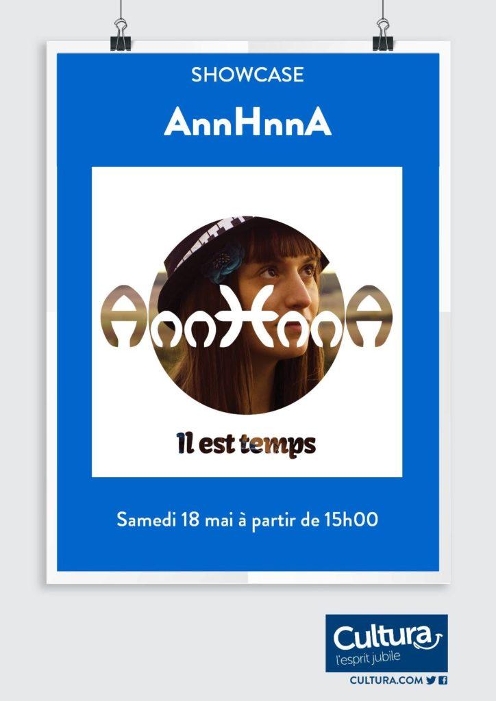 SHOWCASE AnnHnnA Cultura Auxerre